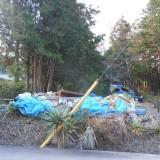 三重県多気郡大台町にて倉庫解体