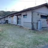 愛知県蒲郡市にて退去に伴う片付け、ブロック塀の撤去、部分解体