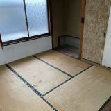 愛知県長久手市にて解体前の残地物撤去